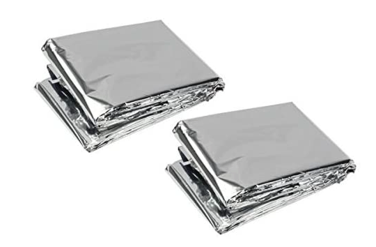 2 pack space blankets
