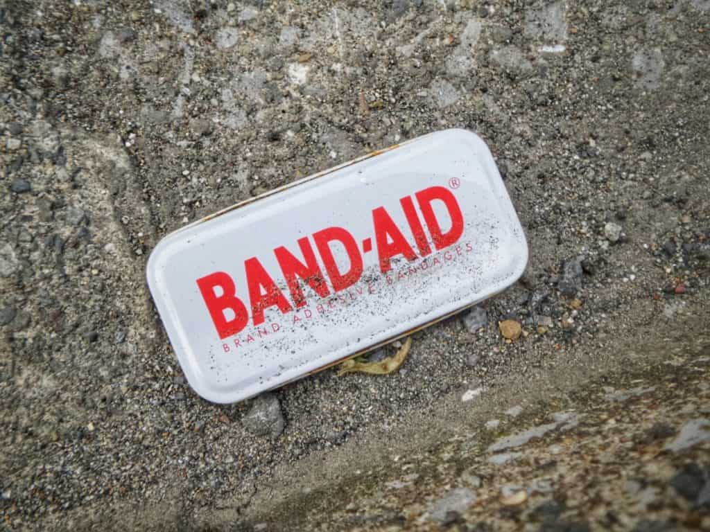 Band-Aid can